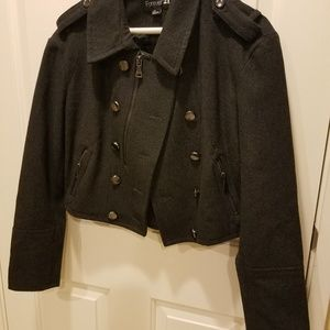 Forever 21 peacoat made of 62% wool